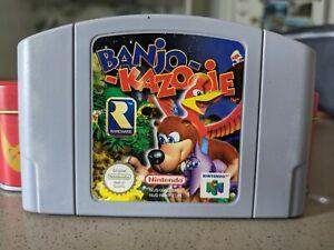 Banjo Kazooie - Nintendo 64 N64 Game - Authentic - Oz Seller - Free Postage