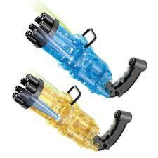 Pistolet à Bulles de Savon pour Enfants - Machine électrique 8 trous Tendance