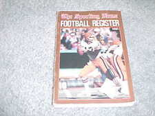 1981 NFL Football Register Media Guide Cleveland Browns Brian Sipe Cover