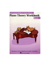 Hal Leonard Student Piano Library Theory Workbook Learn to Play MUSIC BOOK 2