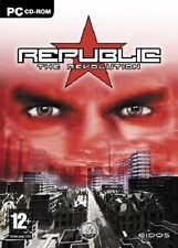 Republic: The Revolution, PC CD-Rom Game.