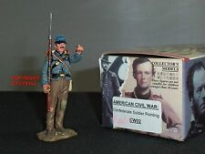 KING AND COUNTRY CW02 CONFEDERATE INFANTRY POINTING METAL TOY SOLDIER FIGURE
