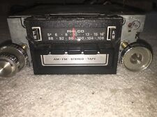Philco In Dash Vintage Stereo With AM/FM &Tape