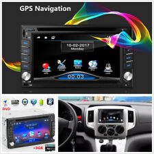 "6.2"" HD 2Din GPS Navigation Car Stereo DVD CD Player FM Radio Bluetooth+Free Map"