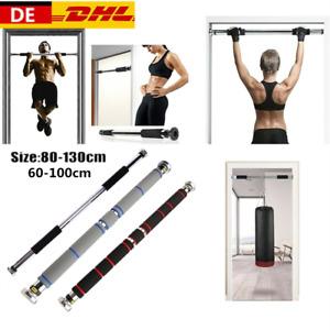 Pro Tür Chin Up Pull Up Bar Oberkörper ABS Gym Fitnesstraining Stärke W
