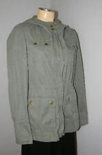 GAP ~ GREEN Hooded UTILITY Army Military JACKET Coat Woman Sz S NEW