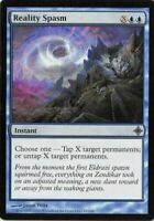 4 Reality Spasm - LP - Rise of the Eldrazi - mtg - 4x x4