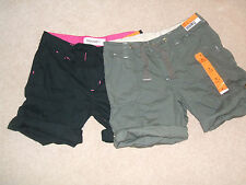 Denim & Co. Patternless Mid Rise Shorts for Women