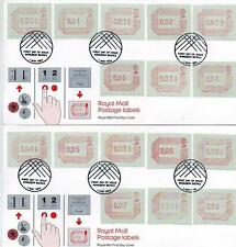 Handstamped Pre-Decimal Great Britain First Day Covers
