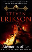 Memories of Ice (Book 3 of The Malazan Book of t... by Erikson, Steven Paperback