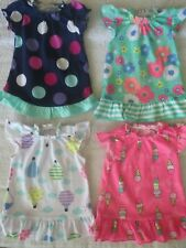 "New ListingLot 18"" doll summer 4 nightgowns pajamas pjs clothes ice cream hot air balloons"