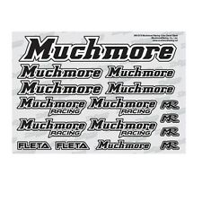 Much-More Muchmore Racing Color Decal Black - MR-D18