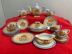 Vintage Lusterware Childrens Tea Set-Japan