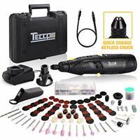 12V Cordless Rotary Multi Tool, 80 Accessories, Quick-Change Keyless Chuck