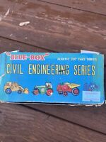RARE AND COLLECTABLE  BLUE BOX CIVIL ENGINEERING SERIES  IN ORIGINAL BOX X 4 VGC