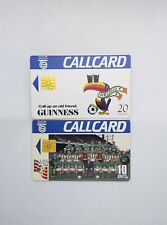 Irish callcards - Special Edition Guinness Toucan and Irish USA 94 Team