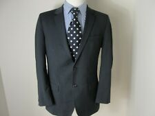 HUGO BOSS Suit Red Label Aamon /Hago 2 Piece Blue Pinstripe 2 Button Sz-40R/W34