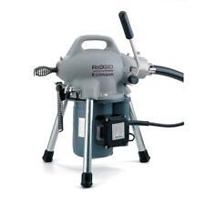 Ridgid 115 Volt K 50 Sectional Drain Cleaner Machine 1 14 4 Inch Drain Lines