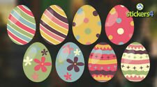 Lovely Arty Uova Pasqua Statico Cling Finestra Adesivo Decorazioni