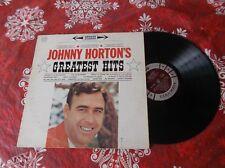 Johnny Horton  G Hits record album LP Canada pressing