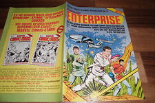 Stan Lee nave Enterprise -- Star Trek cómic cuaderno # 6/1. lainadmisibilidad. 1982