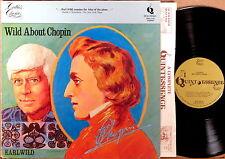 "QUINTESSENCE ""Wild About Chopin"" EARL WILD Polonaise/Nocturne/Scherzo PMC-7131"