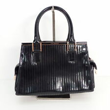 ff9a9cf557ec4 TED BAKER Handtasche Lack Damen Schwarz Tasche Henkeltasche Leather Bag