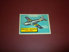 PLANES trading card #30 TOPPS 1957 Army Navy Marines Air Force PRINTED IN U.S.A