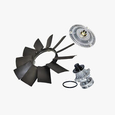 Water Pump (Metal Impeller) + Fan Clutch + Fan Blade kit BMW E46 3 Series X5 New
