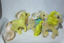 LOT of 3 My Little Pony Posey So Soft Posey So Soft Lofty Pegasus Vintage 1980s