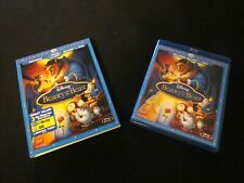 Disney Beauty and the Beast (Blu-ray/DVD Combo) 3-Disc Set w/Slipcover