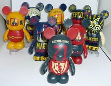 "Disney WDW 40th Anniversary 3"" Vinylmation ( Complet Set ) with Cast Exclusives"