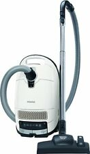 Miele Complete C3 Silence EcoLine Bagged Vacuum Cleaner - WHITE