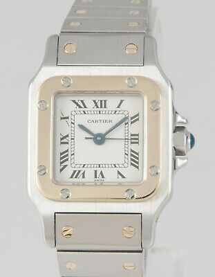 Cartier Santos Galbée Automatic Steel and Gold Ref: 1170902
