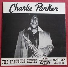 CHARLIE PARKER LP ORIG 60'S FR  THE FABULOUS SEXTET  VOGUE VOL.37