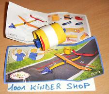 KINDER GOMOVE DC071 DC 71 FLUGZEUG AVION + BPZ