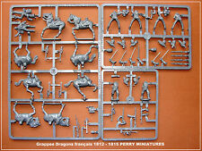 PERRY MINIATURES Grappes Dragons français 1812-1815 Figurines 28mm plastique