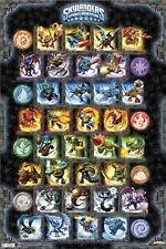 SKYLANDERS SPYRO'S ADVENTURE POSTER ~ 32 CHARACTERS 22x34 Video Game