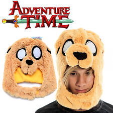 Adventure Time Jake Mascot Plush Hat  Face Cover  Costums Beanie Cap