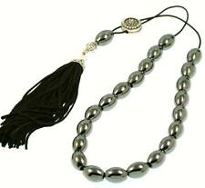 Rice with Sterling Silver Shield Wor