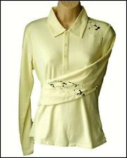 New Women's Oakley L/S Stretch Longshot Golf Polo Shirt Blouse Size 12 Medium