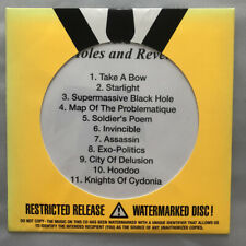 Muse Black Holes & Revelations CD Promo US