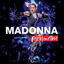 MADONNA REBEL HEART TOUR CD+DVD NUOVO SIGILLATO