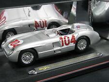 Maisto Mercedes-Benz 300 SLR 1955 1:18 #104 Moss / Collins Targa Florio (JS)
