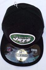 NFL NY Jets New Era 59Fifty OnField Headwear Black Hat 6 7/8(54.9 cm)