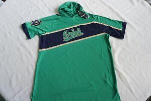 NOTRE DAME FIGHTING IRISH BASKETBALL/ FOOTBALL/GOLF HOODIE SHIRT M UNDER ARMOUR