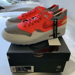 clot x nike air max 1 am1 kod kiss of death red - brand new size 11 ships asap