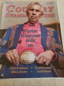Country Standard Time Mag June 07. Porter Wagoner, Charlie Louvin, John Anderson