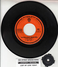 "HARPERS BIZARRE The 59th Street Bridge Song 7"" 45 record + juke box strip RARE!"