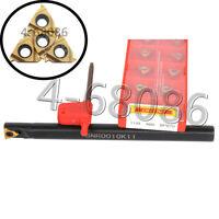 2Pcs 11IR A60 + SNR0010K11 Lathe inner hole lathe turning tools Holder 11IR 1/4